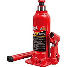 Torin Big Red Hydraulic Bottle Jack, 8 Ton Capacity