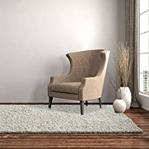 iCustomRug Cozy Soft And Plush, 4ft0in x 6ft0in ( 4X6 ) Shag Area Rug In Off White