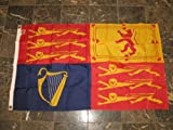 USA Seller3x5 Embroidered UK United Kingdom Royal Standard 210D Nylon Flag 3039,×5039, + bonus e-book with pictures Review