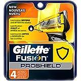 Gillette Fusion Proshield Men's Razor Blade Refills, 4-Count
