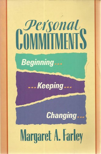 Cover of Personal Commitments: Beginning, Keeping, Changing