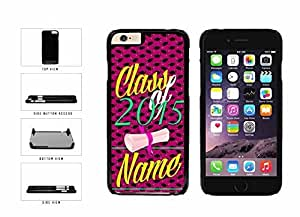 Custom Personalized Graduation Gift Class Of 2015 Plastic Phone Case Back Cover Apple iPhone 6 Plus (5.5 Inches) includes BleuReign(TM) Cloth and Warranty Label