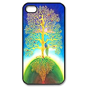 Painting - Tree of Life Cell phone Case Cover for Apple iPhone 4 4S RCX006293