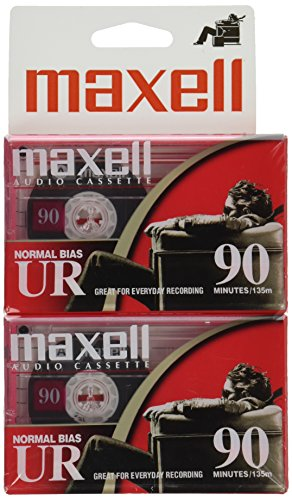 maxell-108527-ur-90-blank-audio-cassette-tape-2-pack