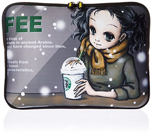 Amzer 10.5-Inch Designer Neoprene Sleeve Case Pouch for Tablet, eBook and Netbook - Coffee Break (AMZ5008105)