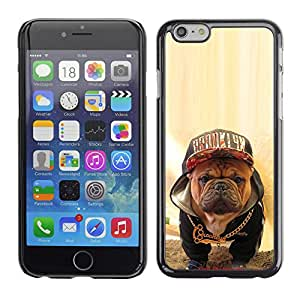 Vortex Accessory Carcasa Protectora Para APPLE iPHONE 6 PLUS ( 5.5 IN ) - Boston Terrier Bull French Bulldog Dog -