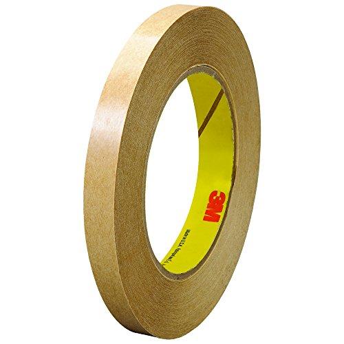 3M 465 Adhesive Transfer Tape, Hand Rolls, 1/2
