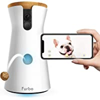 Furbo Dog Camera: Treat Tossing, Full HD Wifi Pet Camera and 2-Way Audio, Designed for Dogs, Compatible with Alexa (As…