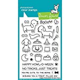 Lawn Fawn Clear Stamp Happy Howloween