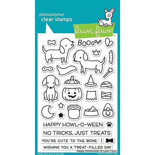 Lawn Fawn Clear Stamp Happy