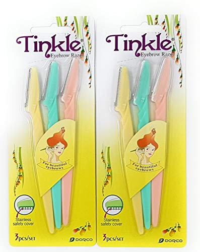 Tinkle Eyebrow Razor Pack of 6 from TINKLE