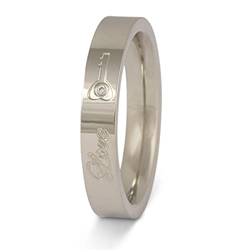 Un bonito Anillo de Matrimonio, Amistad Anillo, anillo de compromiso – Key