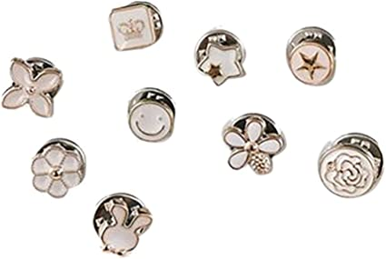 Botón conchas//10 X Funda fácil botón de Metal Conchas tamaño 22 Mm