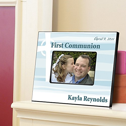 Personalized First Communion Picture Frame-Light of God