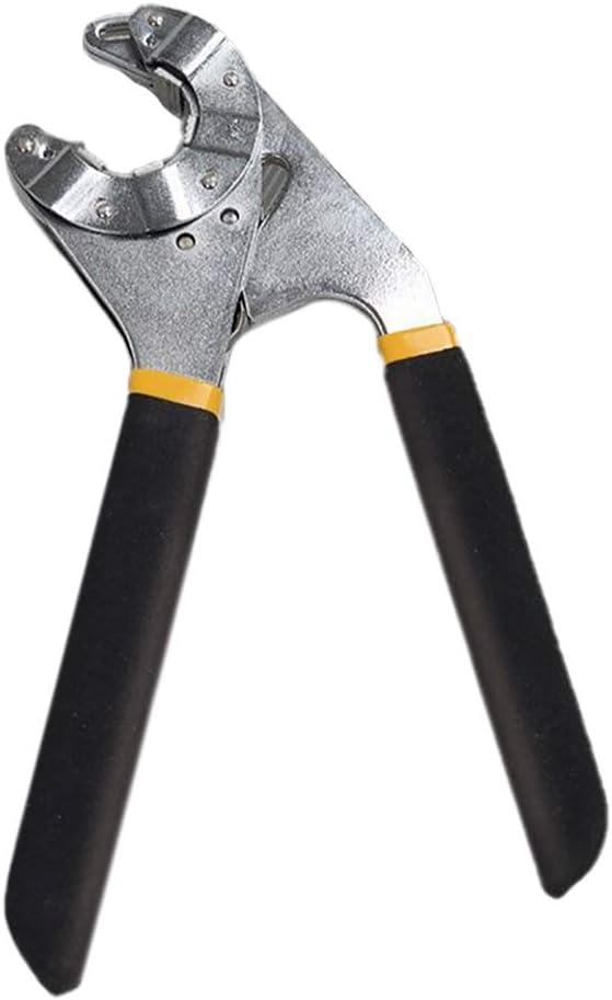 Haodou Nueva 8 pulgadas llave multifunci/ón llave bi/ónica llave m/ágica empu/ñadura ajustable abrazadera m/óvil llave de extremo abierto