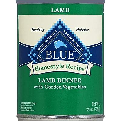 Blue Buffalo Homestyle Recipe Lamb Dinner-12X12.5 Oz, Large