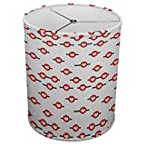 Hardback Linen Drum Cylinder Lamp Shade 8'' x 8'' x 8'' Spider Construction [ Heart Fly Love Symbol ]