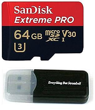 Sandisk 4326596692 Extreme Pro - Tarjeta de memoria 4K (64 ...