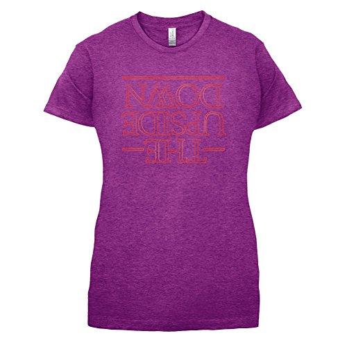 The Upside Down - Femme T-Shirt - Violet - M