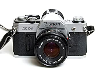 Amazon.com : Canon AE-1 35mm Film Camera w/ 50mm 1:1.8 Lens ...