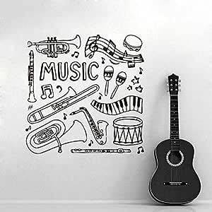wukongsun Instrumentos Musicales Piano Tambores Saxofón Música ...
