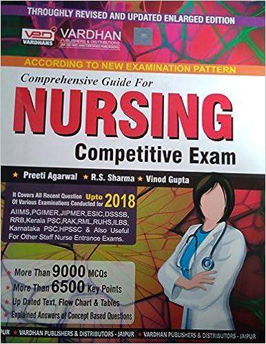 Buy Vardhan Comprehensive Guide for NURSING Competitive