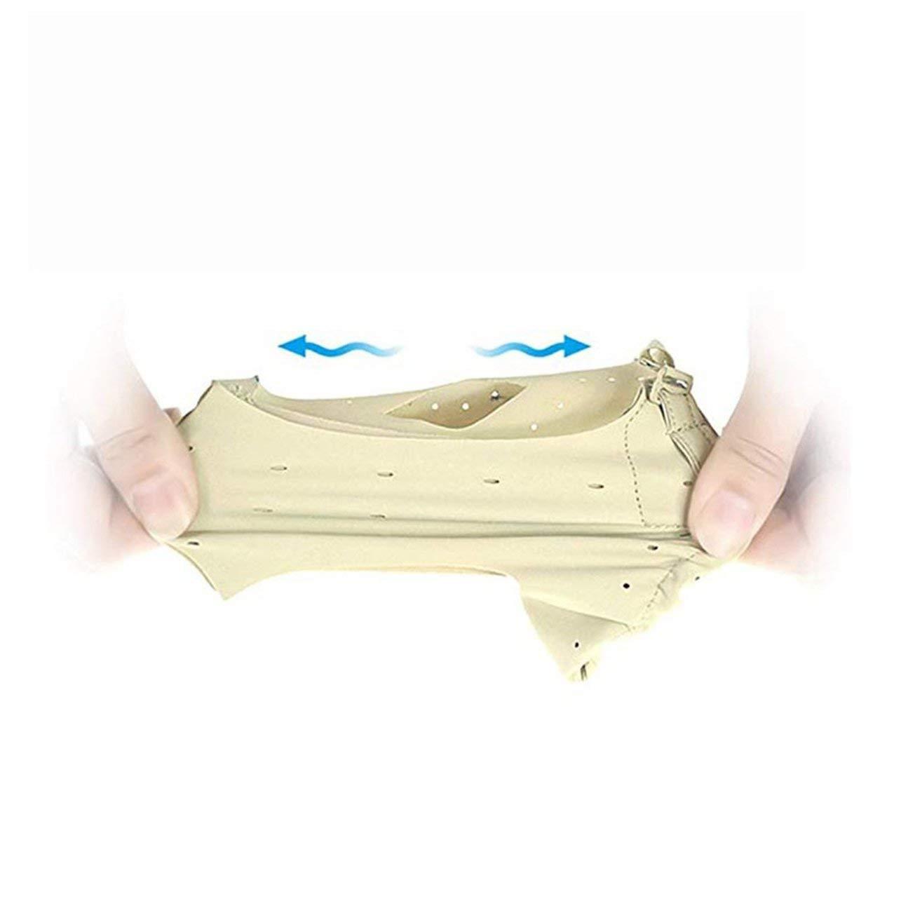 MachinYesity Grande Pollice Pollice con Foro correzione dellalluce valgo Cintura Comodo Piedi Dispositivo Cura del Piede Unisex Forniture Ortopediche Colore della Pelle M