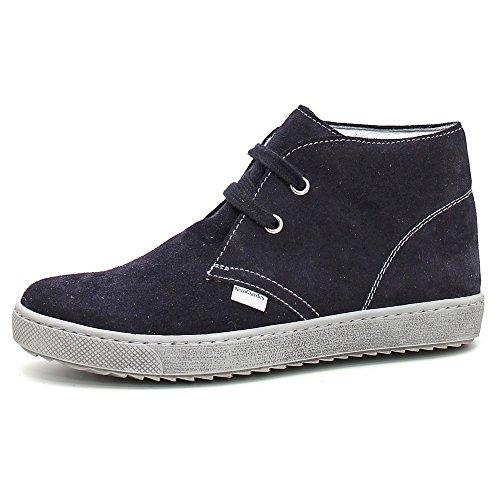 Bleu Blu Indios Giardini Junior Blu à Blu garçon Chaussures Velour pour de lacets Nero ville Bleu BHwFCxwzq