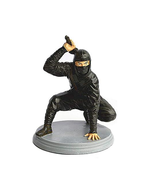 SDBRKYH Soldado Ninja Escultura, Estatua de Ninja Japonés ...