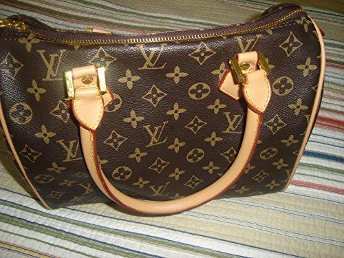 Designer Inspired Canvas Speedy Damier Ebene 30 - Louis Vuitton Sale Bags