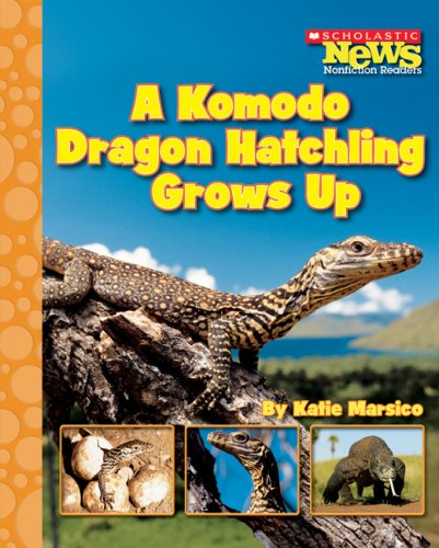 A Komodo Dragon Hatchling Grows Up (Scholastic News Nonfiction Readers: Life Cycles) by Brand: Children's Press(CT)