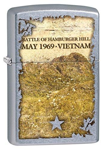 Zippo Lighter: Vietnam War, Battle of Hamburger Hill - Stree