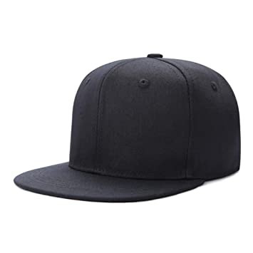 Rawdah Mujeres Hombres Sombrero Gorra de b/éisbol Solido Hip Hop Ajustable