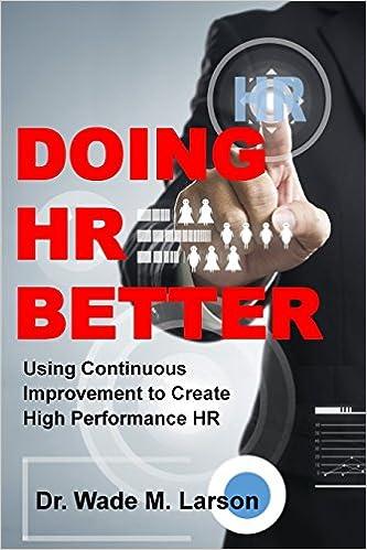 Doing HR Better