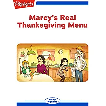 Amazon Com Marcy S Real Thanksgiving Menu Audible Audio Edition