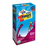 Clif Kid Mixed Berry Zfruit Rope Snacks Bar, 0.7 Ounce - 6 per pack - 6 packs per case.