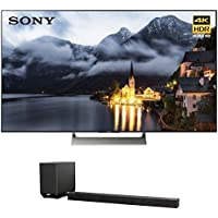 Sony XBR-55X900E 55-inch 4K HDR Ultra HD Smart LED TV (2017 Model) w/ Sony HT-ST5000 7.1.2ch 800W Dolby Atmos Sound Bar