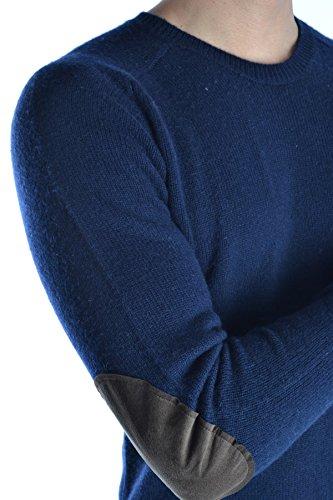Aspesi Homme MCBI150145O Bleu Laine Maille
