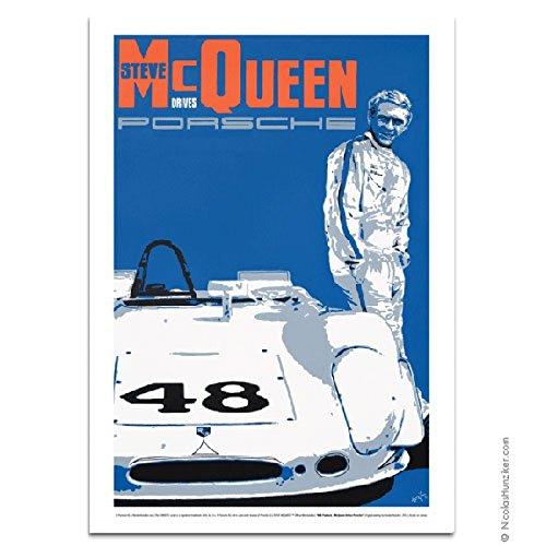 Nicolas Hunziker Porsche 908 Paddock Steve McQueen - Hours Paddock