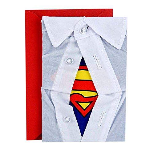 Hallmark Signature Father's Day Greeting Card (Superman Shirt)
