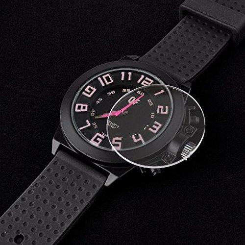 FollowSun Sapphire Crystal Watch Glass (Pack of 10, 24.5MM) (Watch Crystal Sapphire)