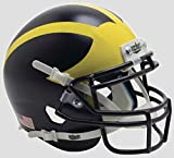 Schutt NCAA Michigan Wolverines Mini Authentic XP Football Helmet, 2016 Alt. 3, Mini