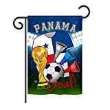 Ornament Collection G192104 World Cup Panama Soccer Vertical Garden Flag, 13'' x 18.5'', Multicolor