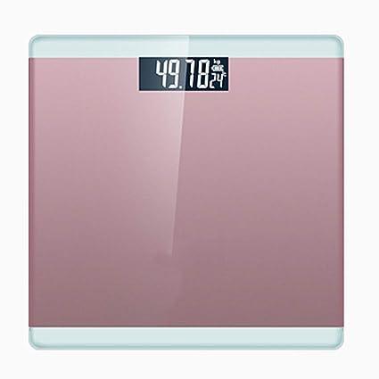 JXXDQ Báscula de baño Digital del Peso Corporal de la Alta precisión Que Pesa la Escala
