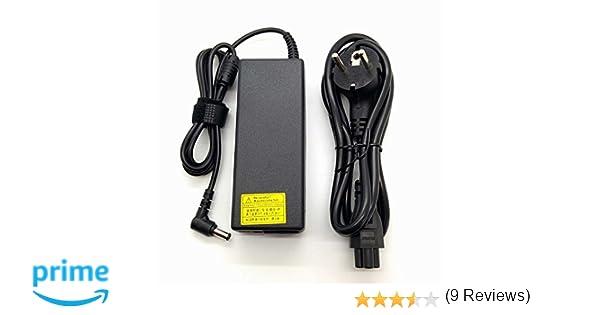 Adaptador Cargador Nuevo Compatible para portátiles ASUS W Series X Series del listado 19V 3,42a o Inferior con Punta de 5,5mm x 2,5mm