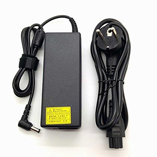 Adaptador Cargador Nuevo Compatible para portátiles Toshiba Satellite Pro C, L, M, S, T, U Series del listado 19V 4,74a o Inferior con Punta de 5,5mm ...