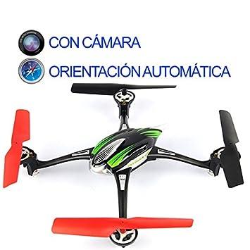 DRON MEDIANO CON CAMARA WLTOYS SKYLARK V636: Amazon.es: Juguetes y ...