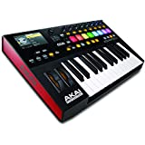 Akai Professional Advance 25 | 25-Key Virtual Instrument Production Controller with Full-Color LCD Screen & 10K Sounds Download