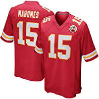 Thole NFL Camiseta Fútbol Kansas City Chiefs 15# MAHOMES Equipo Fútbol Training Jersey Uniformes