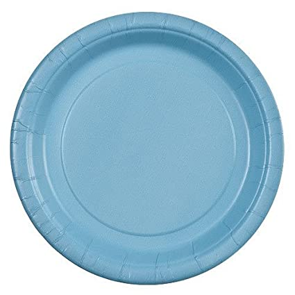 Party Dimensions 71172 24 Count Paper Plate 7-Inch Light Blue  sc 1 st  Amazon.com & Amazon.com: Party Dimensions 71172 24 Count Paper Plate 7-Inch ...
